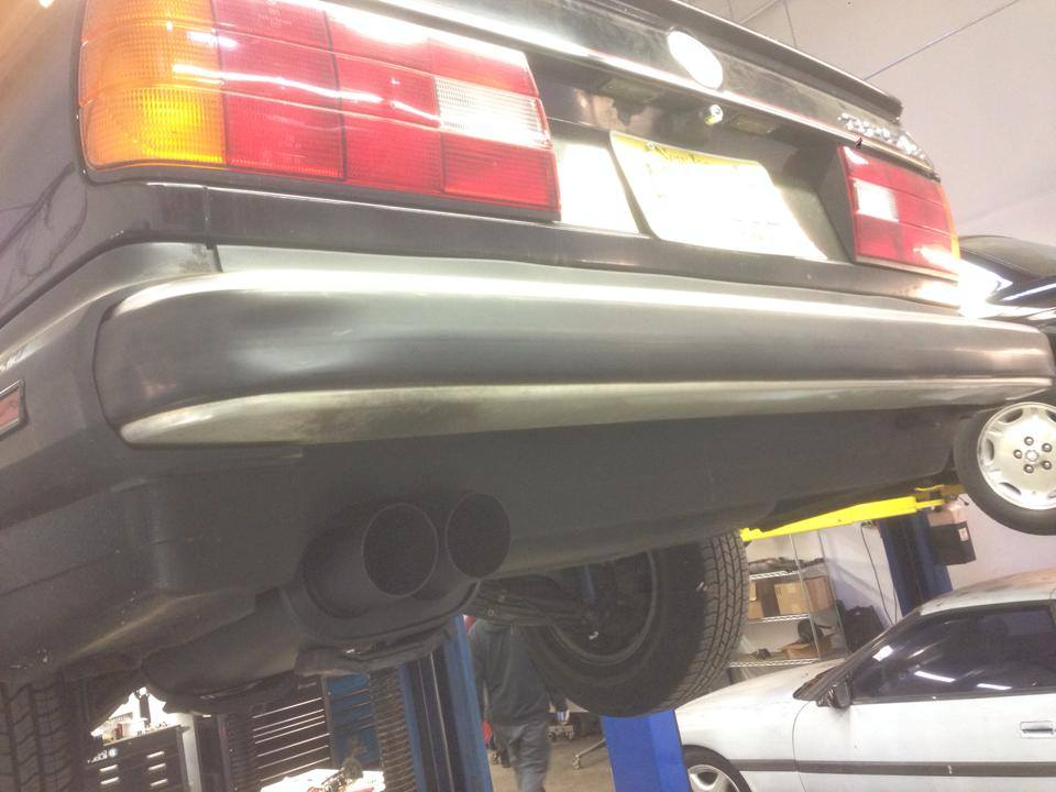 E30 3 inch exhaust