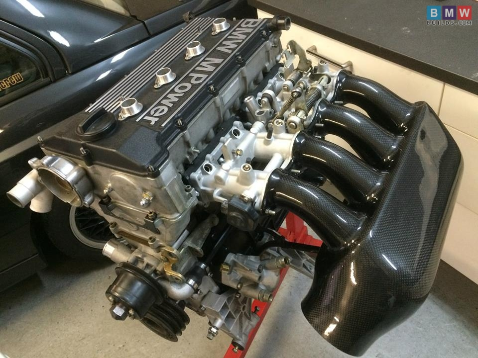 Bmw E30 S14 Engine Rebuild With Carbon Airbox Amp Alpha N By